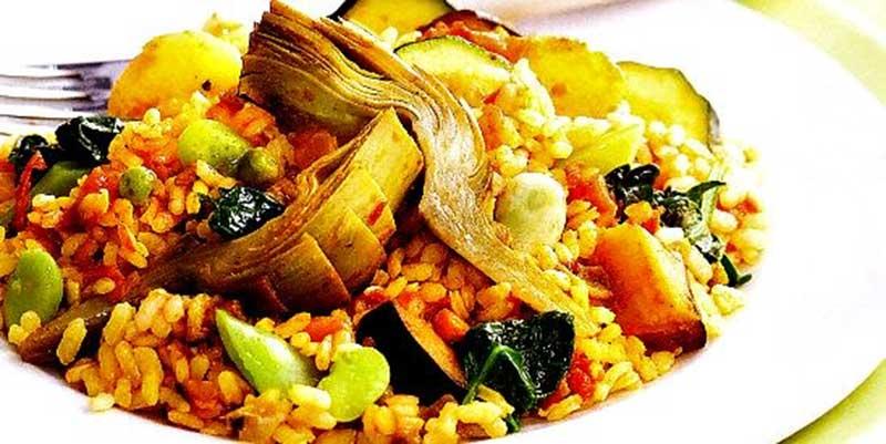 arroz de ayuno