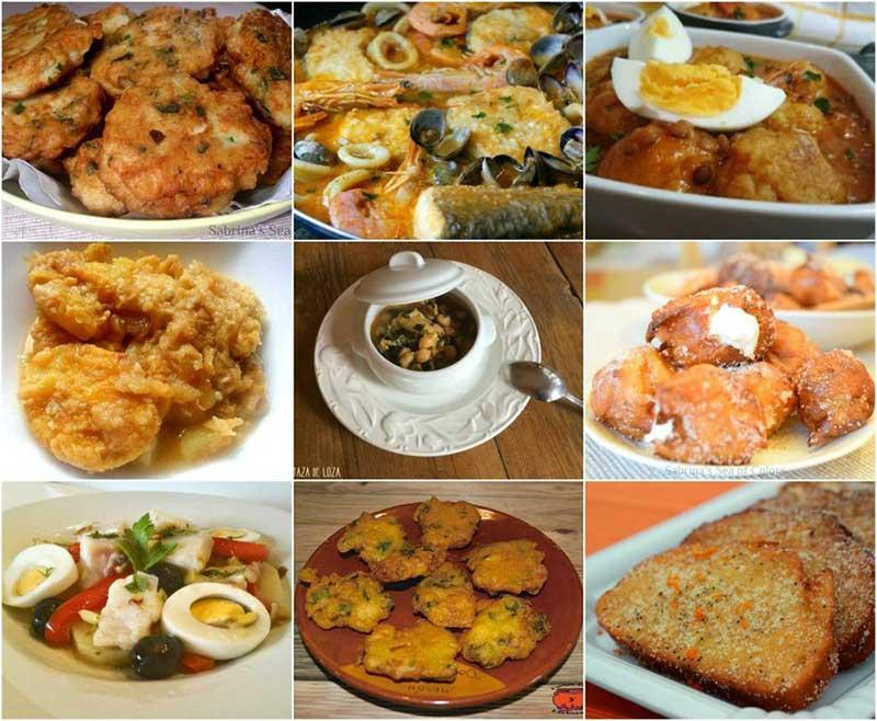 platos tipicos semana santa